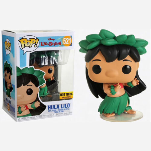 Hula Lilo Hot Topic Funko Pop Excl