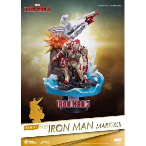 Iron Man Mark XLII Beast Kingdom D-Select 016 Statue