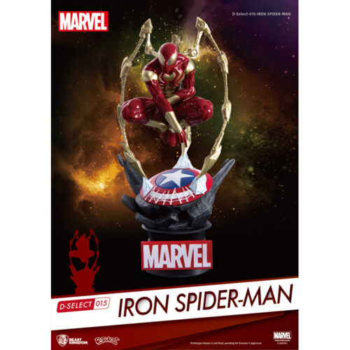Iron Spider-Man Beast Kingdom D-Select Statue