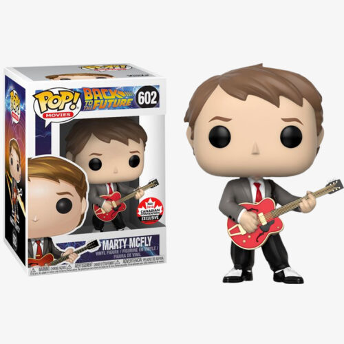 Marty McFly with Guitar Funko Pop