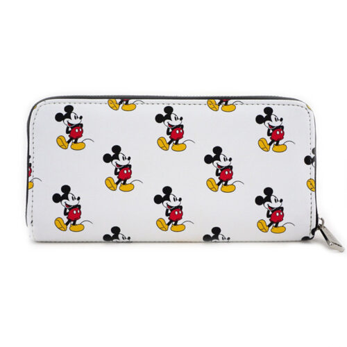 Mickey AOP White Wallet Loungefly
