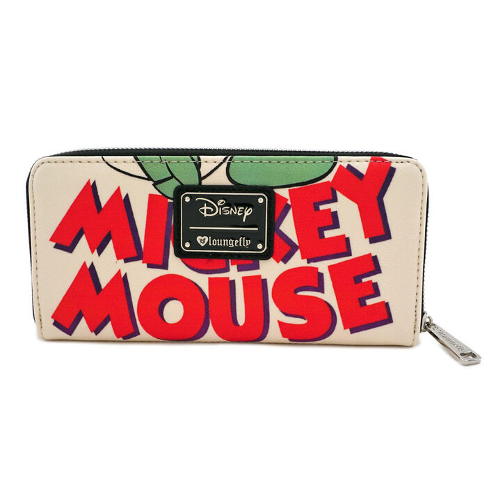 Mickey Mouse Classic Print Wallet Loungefly