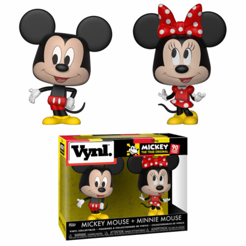 Mickey en Minnie Mouse Vynl Funko 2-pack