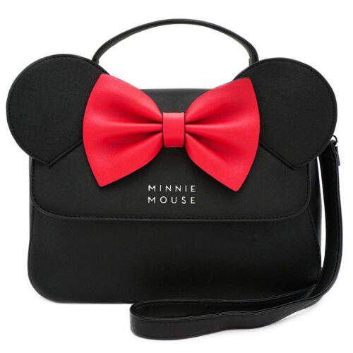 Minnie Bow Crossbody Bag Loungefly
