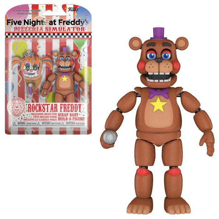 Rockstar Freddy Action Figure