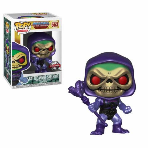 Skeletor Battle Armor (Metallic) Funko Pop