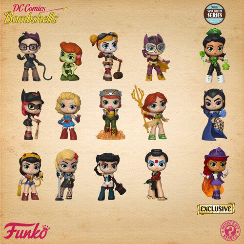 DC Bombshells Funko Mystery Mini Exclusive Specialty Series