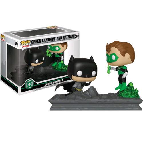 Green Latern and Batman Funko Pop