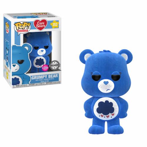 Grumpy Bear Flocked Exclusive Funko Pop
