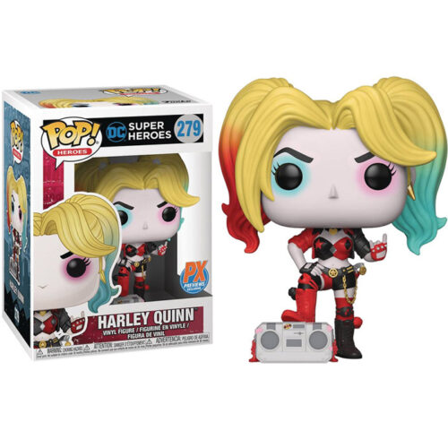 Harley Quinn (Boombox) PX Previews Exclusive Funko Pop