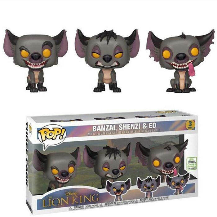 Hyenas 3-Pack ECCC Funko Pop