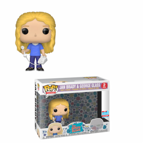 Jan Brady en George Glass NYCC Funko Pop