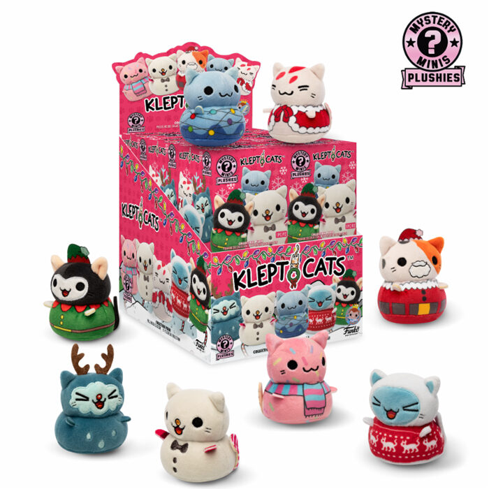 Kleptocats Holiday Exclusive Mystery Mini Plush