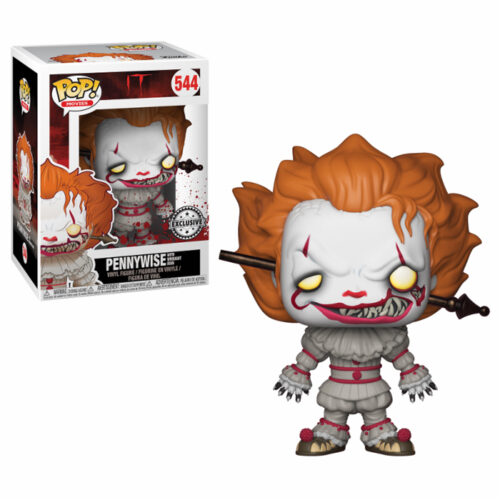 Pennywise with wrought iron Funko Pop