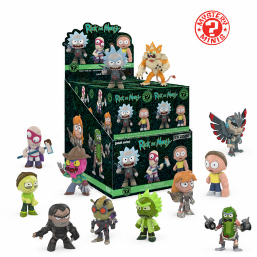 Rick and Morty Exclusive Funko Mistery Mini