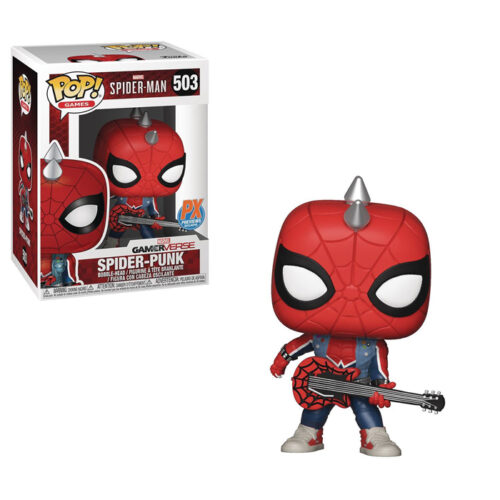 Spider-Punk Funko Pop