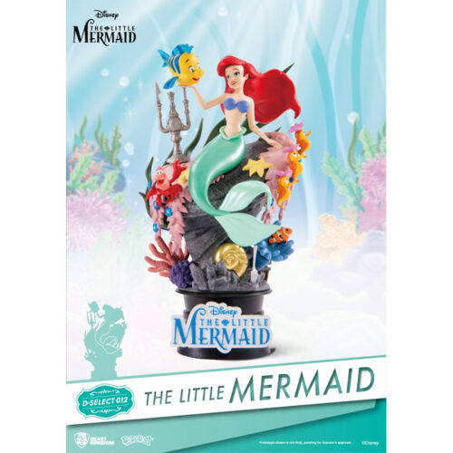 The Little Mermaid Disney Diorama Beast Kingdom D-Select