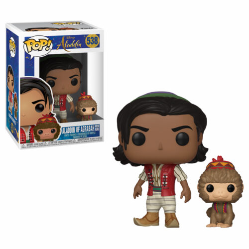 Aladdin with Abu Funko Pop