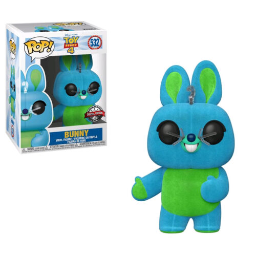 Bunny Flocked Toy Story Funko Pop