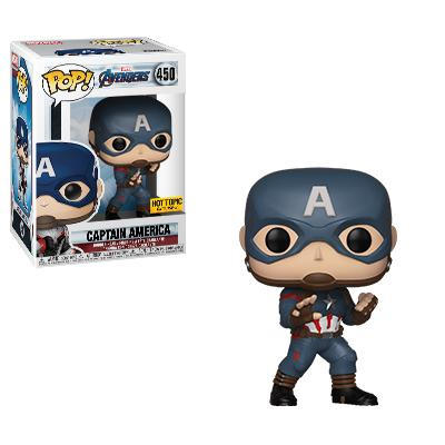 Captain America Hot Topic Exclusive Funko Pop