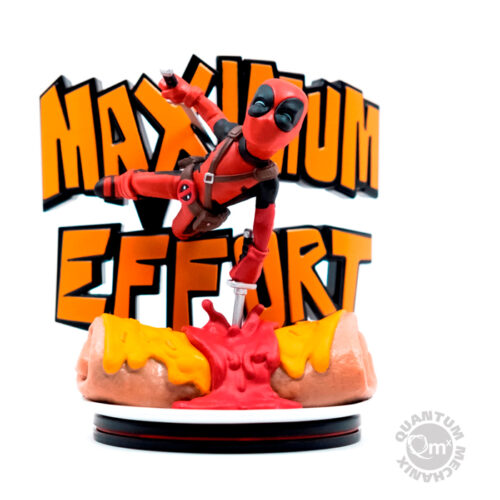 Deadpool Maximum Effort Q-Fig Diorama