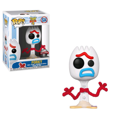 Forky Sad Exclusive Toy Story Funko Pop