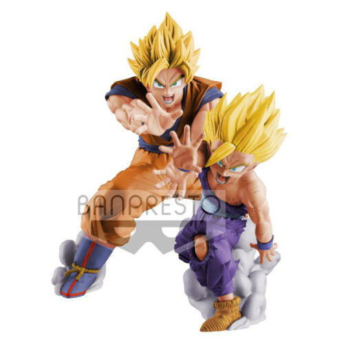 Gohan and Goku VS Existence Banpresto Figures