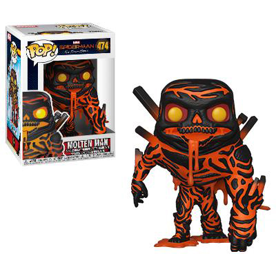 Molten Man Funko Pop Marvel Spider-Man