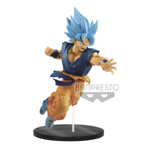 SSGSS Blue Goku Figure Ultimate Soldiers Banpresto