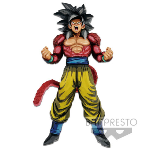 Super Saiyan 4 Goku Manga Dimensions Figure Banpresto