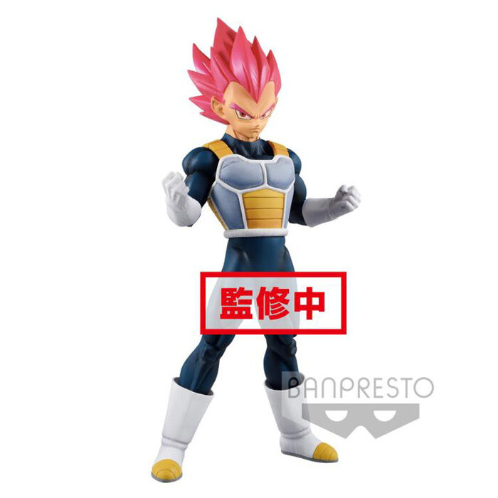 Super Saiyan God Vegeta Chokoku Buyuden Banpresto