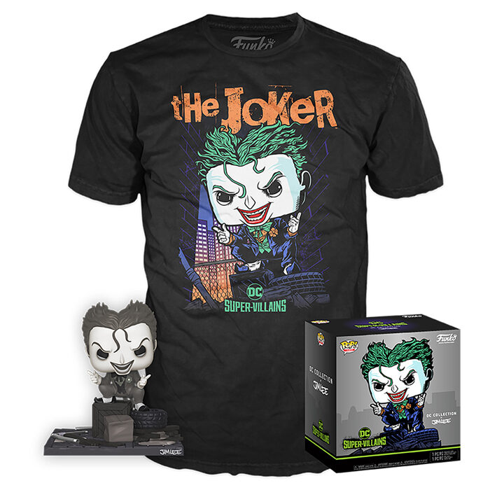 The Joker (Hush) (Black & White) Box
