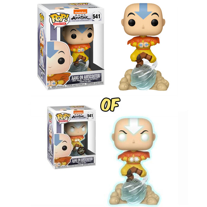 Aang on Airscooter Funko Pop
