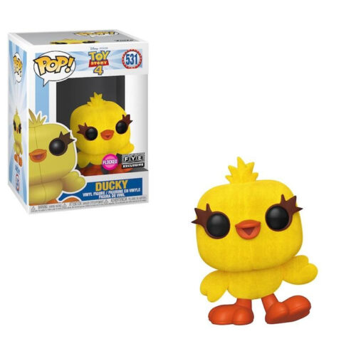 Ducky Flocked FYE Funko Pop
