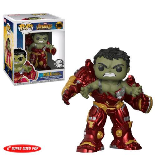 Hulk Busting Out Of Hulkbuster Funko Pop