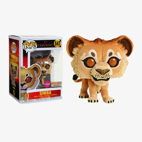 Simba Flocked Funko Pop