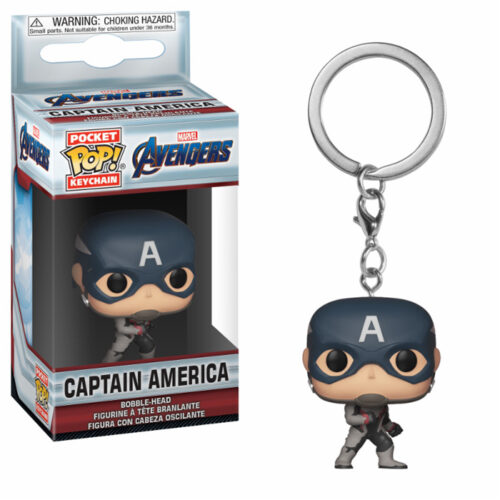 Captain America Endgame Pocket Pop Keychain