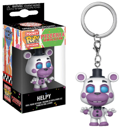 Helpy Pocket Pop Keychain