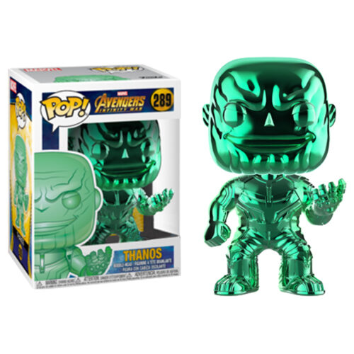 Thanos Green Chrome Funko Pop